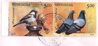 Sparrow stamp