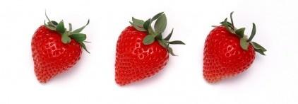 three-strawberries