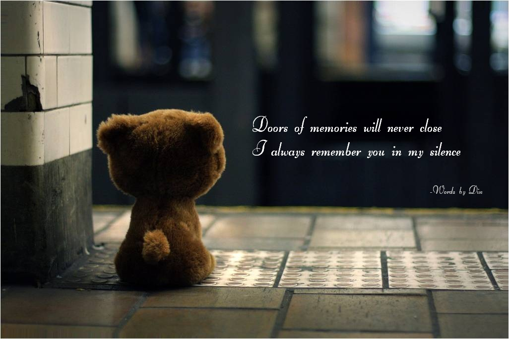 Estranged Doors Of Memories Will Never Close Propel Steps