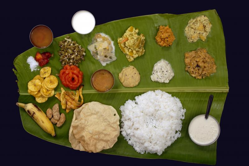 South Indian Rice Meal