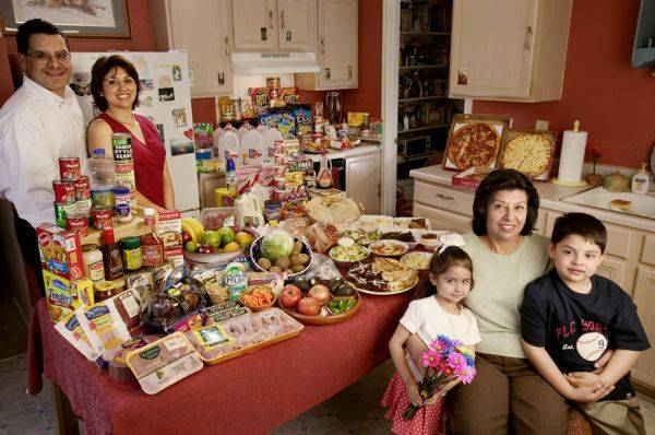 United States, Texas The Fernandezes family spends around $242 per week.