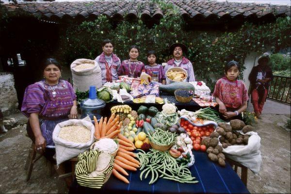 Guatemala, Todos Santos The Mendozas family spends around $76 per week.
