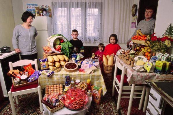 Bosnia and Herzegovina, Sarajevo The Dudo family spends around $90 per week.