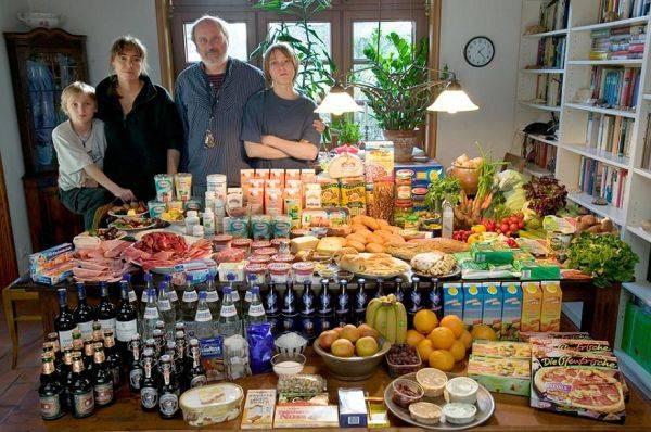 Germany, Bargteheide The Melander family spends around $568 per week.