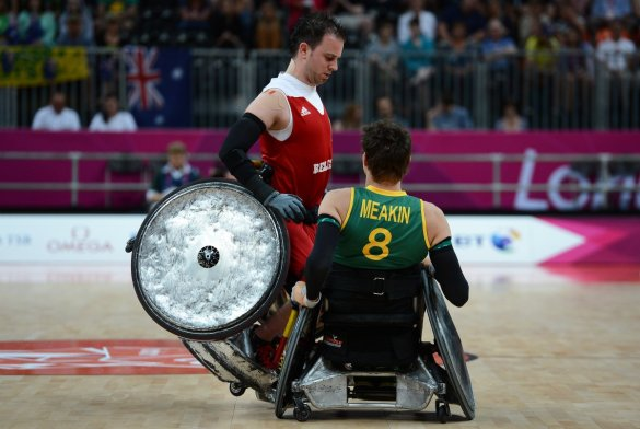 belgium-and-australia-compete-in-wheelchair-rugby