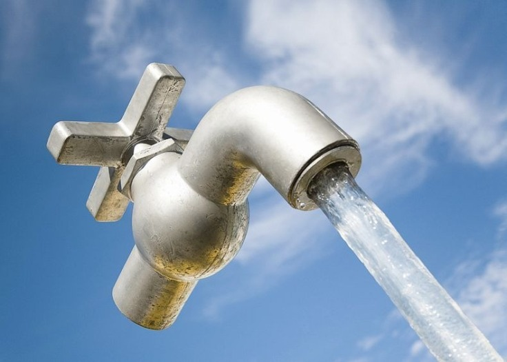 Magic faucet in Wisconsin, USA.