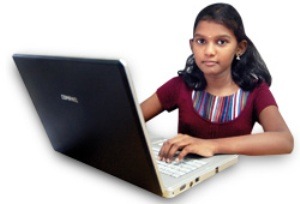Vishalini has the highest IQ in the world, but she will be eligible for an entry in the Guinness only after she turns 14; now she is 13 (Photo: The Sunday Indian)