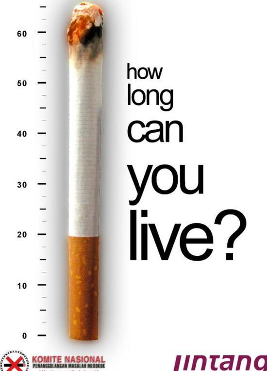 Teen smoking ad