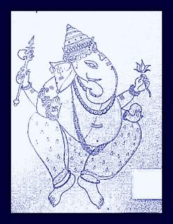 Sketch of Ganesh