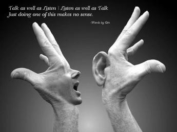 Talk   Listen