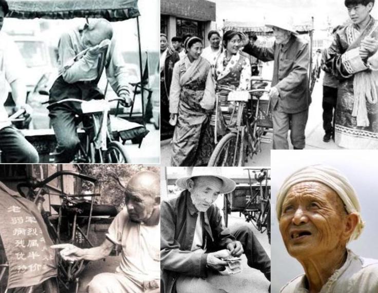 Bai Fang Li. tukang becak