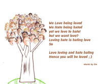 Loving Love.. Hating Hate...