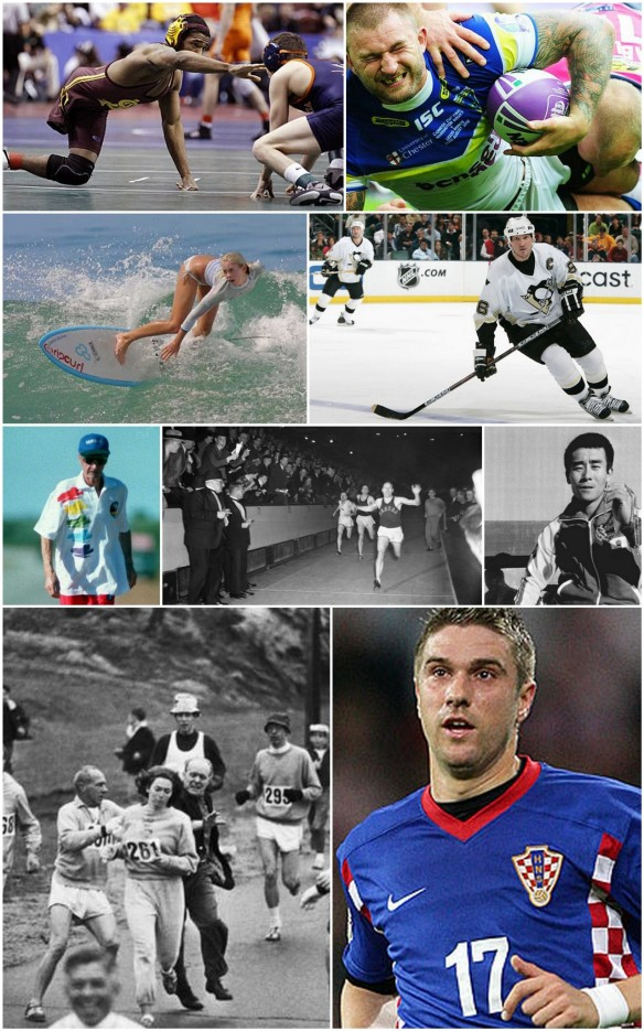 9 Brave Hearts of Sports