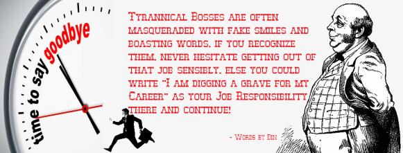 Tyrannical Boss