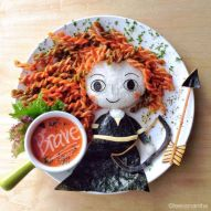 Food art by Samantha Lee