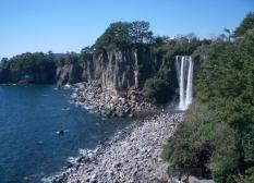 Jeongbangpokpo Waterfall, Korea