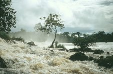 Lobe waterfalls Kirbi Cameroon