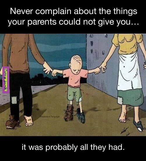 parents poor