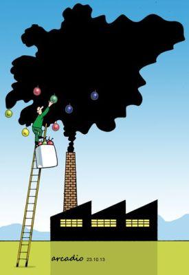 Pollution: by Arcadio Esquivel