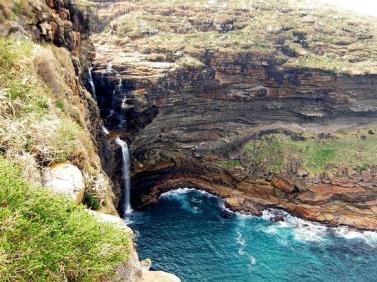 Transkei Waterfall, Transkei