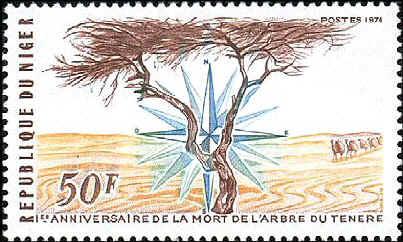 Niger Stamp!