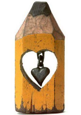 Pencil Sculpture by Dalton M Ghetti