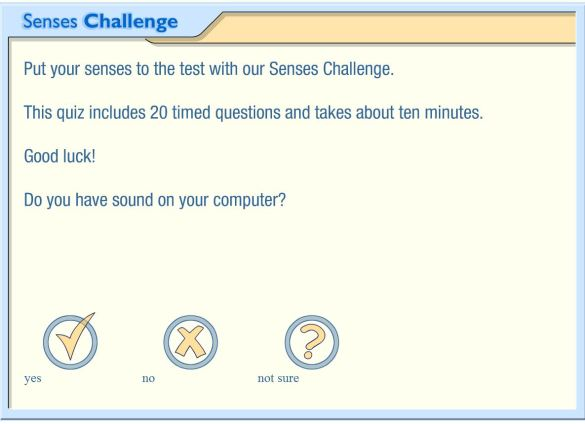 sense challenge