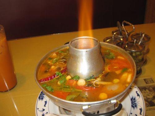 Tom yum goong Thai Flavor
