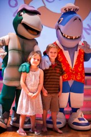 Kids with Mascots