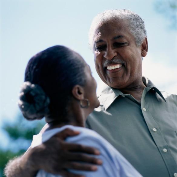 Senior Couple Sharing Look