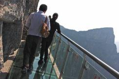 The summit of Tianmen Mountain and Zhang Jiajie