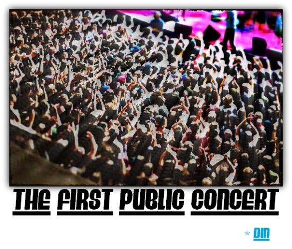 The first concert