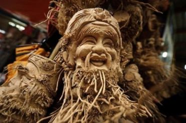 Bamboo Root Art (5)