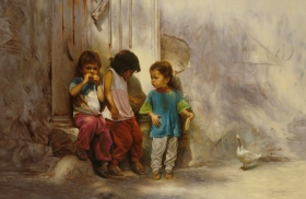 Children in the Alley