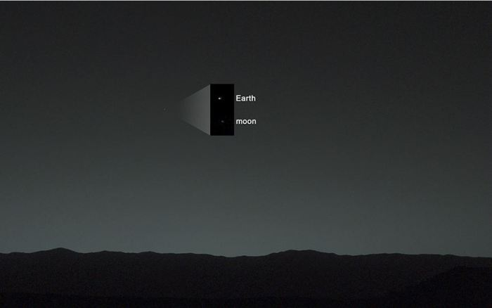 earth from mars 2