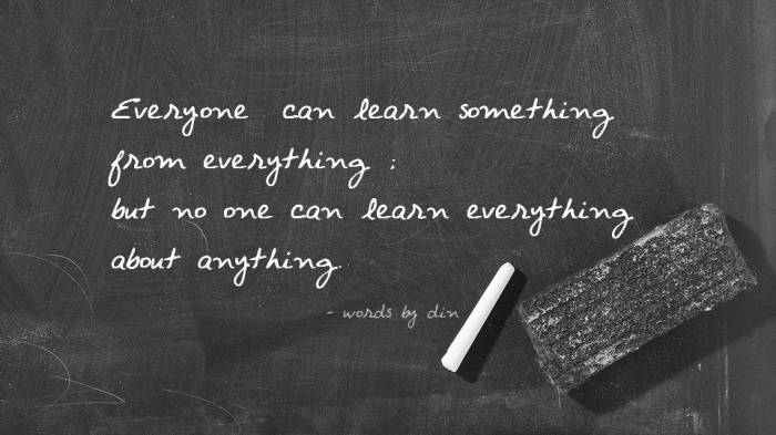 QUESTION EVERYTHING. LEARN SOMETHING. ANSWER NOTHING ...  |Learn Something Everything