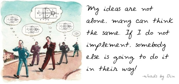 ideas are not alone