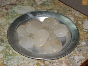 """""""Nungu"""" the jelly part with outer layer removed. Kids Love it."""