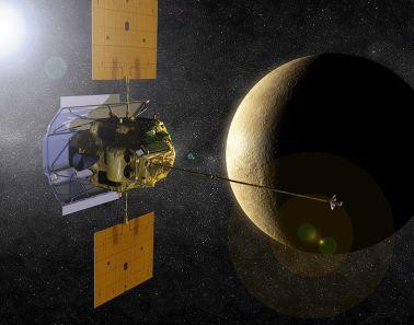 MESSENGER – First Mercury orbiter