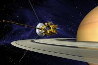 Cassini–Huygens – First Saturn orbiter and first Titan lander