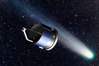 Giotto – Comet Halley flyby