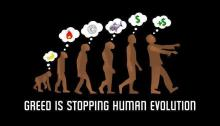 Greed-stops-evolution