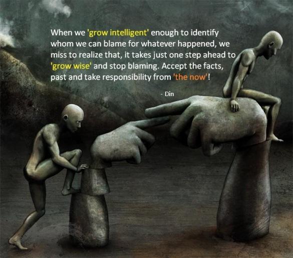 Grow blame into Responsibility