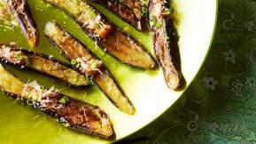 JAPANESE Miso-glazed eggplant