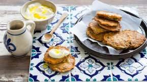 LEBANESE Lebanese zucchini fritters (ejjeh koussa)