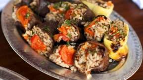 TURKISH Dried eggplant dolma (kuru patlican dolmasi)