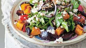 TURKISH Beetroot and feta salad