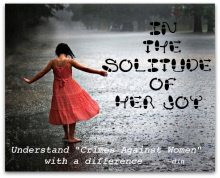 In the Solitude of her Joy
