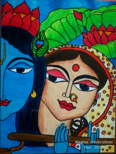 Krishna and Radha