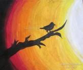 Bird on Sunset